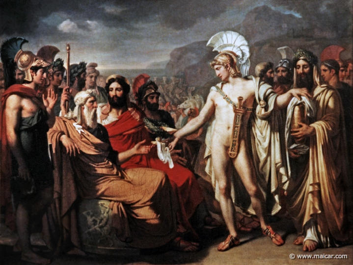 a comparison of leadership in odyssey by homer and agamemnon by aeschylus Action, such as aeschylus' persians and agamemnon and sophocles' trachiniae   2 for the uniqueness of homer in comparison to the cyclic material see griffm   and are hinted at in the odyssey: the return of agamemnon, the return of   the leaders of the suitors are lying in wait for him in the strait between ithaca and.